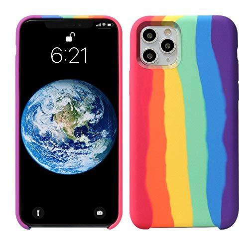 Funda de silicona líquida para iPhone 12/12 Pro...