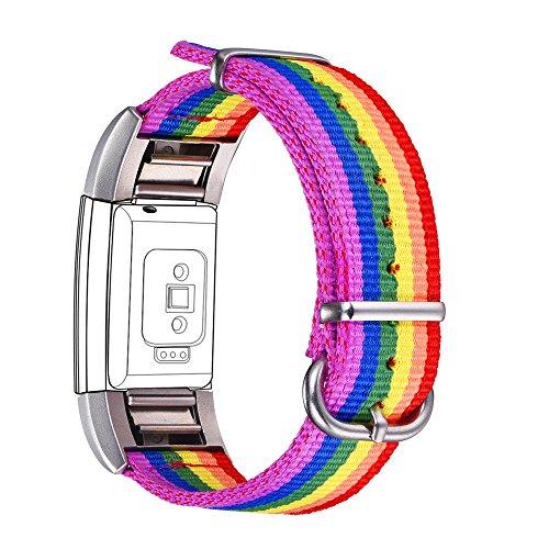 Correa para Fitbit Charge 2, Bandmax LGBTI Banda...