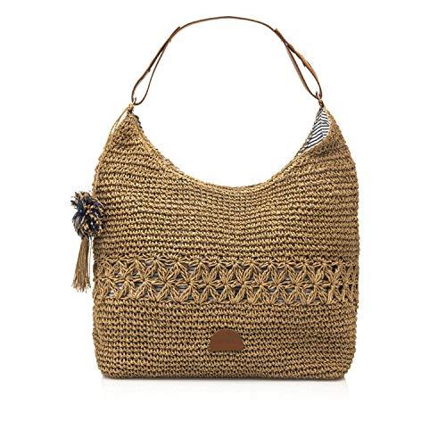 MTNG AMARRA, Shopper para Mujer, Beige (Teja...