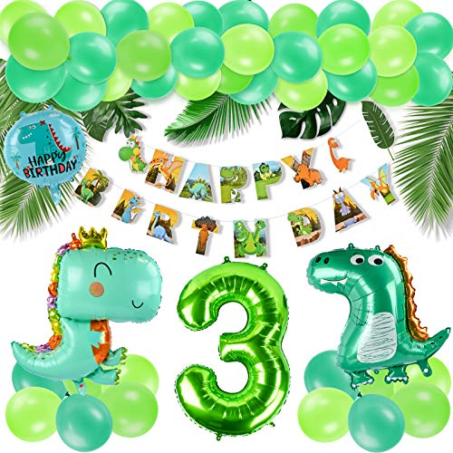 KATELUO Decoracion Cumpleaños Dinosaurios,Selva...