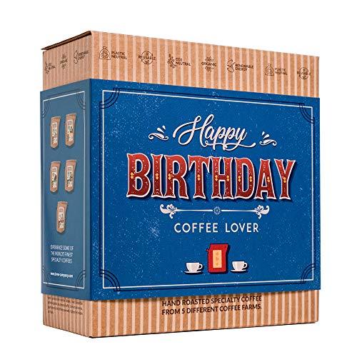 Caja de Cafe Gourmet Para Cumpleaños - Paquete de...