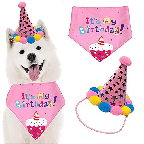 Sombrero Bandana cumpleaños Perro, Sombrero...