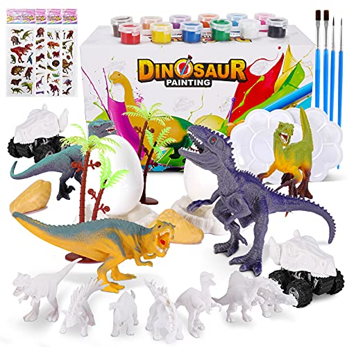 Kit Pintura Dinosaurios, 45 Piezas Juguetes...