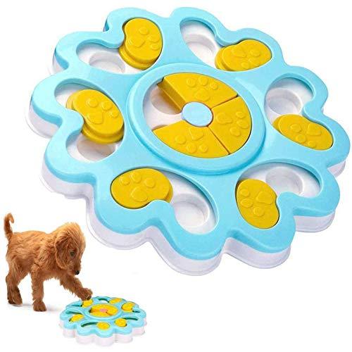 Juguete de puzle para perro, dispensador de...