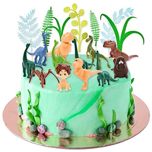 Figuras de Dinosaurios,Decoración para Cakes de...
