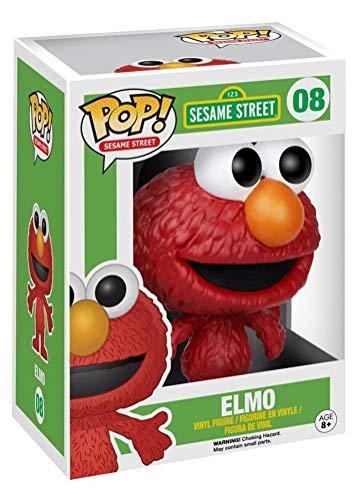 Funko FUN4912 Pop TV: Sesame Street - Elmo Figure