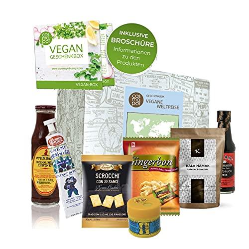 Excepcional caja de regalo Vegan World Tour  ...