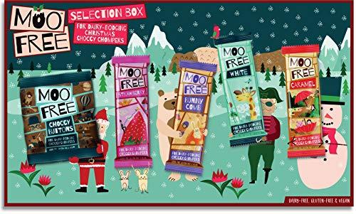 Moo Free Caja de selección de chocolate, sin...