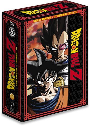 Dragon Ball Z Sagas Completas Box 1 Ep. 1 A 117...