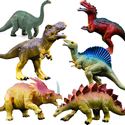 OuMuaMua Juguetes de figuras de dinosaurios...