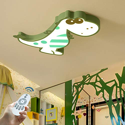 LED Dinosaurio Luz Techo Dormitorio Plafón...