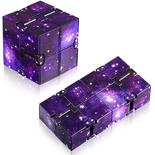 Sumind 2 Piezas Juguetes de Cubo Infinito de...