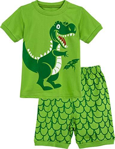 MOMBEBE COSLAND Pijama Corto Niños Dinosaurio...