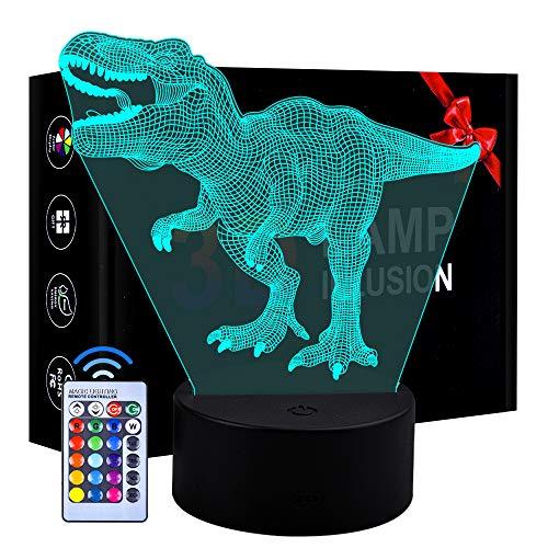 Juguetes para niños de 5 años, Dinosaurio Luz...