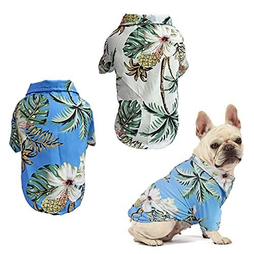 RoxNvm Camiseta de Verano para Perros, Camisas de...