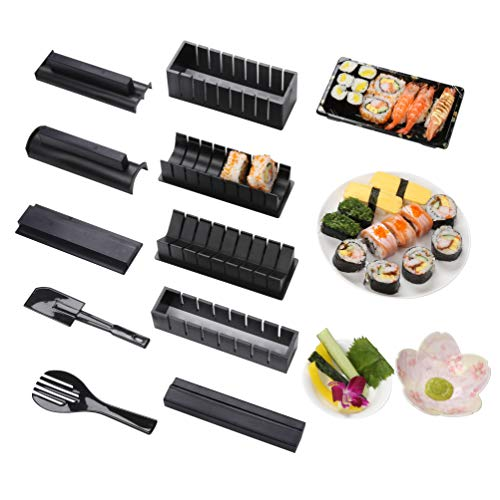 Sushi Maker kit 10pcs 5 Formas únicas de Kit para...