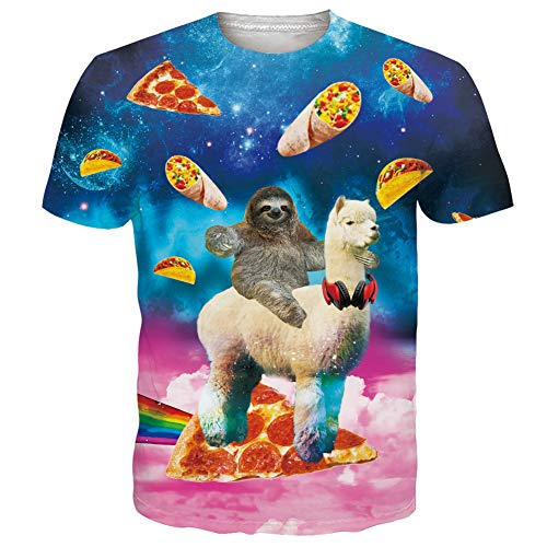 RAISEVERN Camisetas de Alpaca Impresas en 3D...
