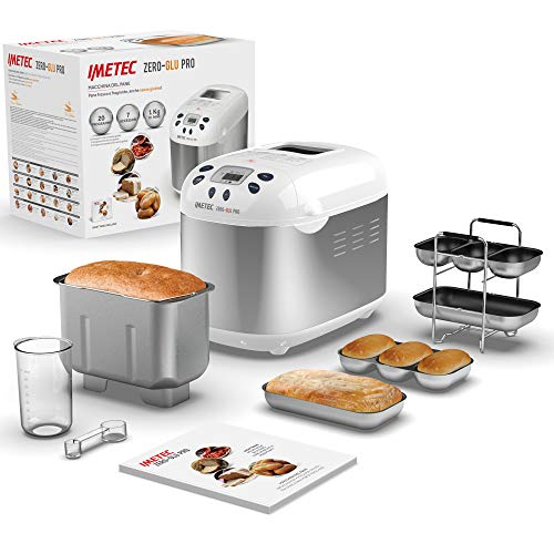 Imetec Zero-Glu Pro, máquina para hacer pan,...