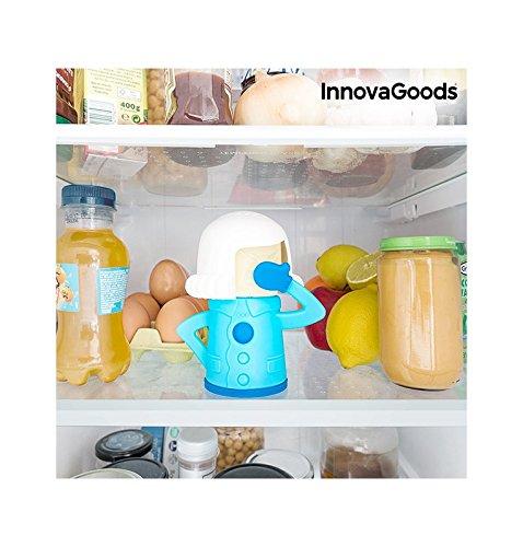 InnovaGoods Desodorizante para Neveras, Azul,...