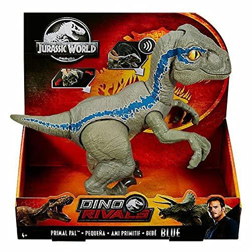 Jurassic World Baby Blue Dino Velociraptor,...