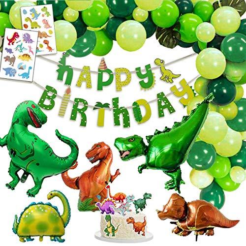 Decoracion Dinosaurio Cumpleaños, 1 Banner de...