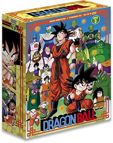 Dragon Ball Sagas Completas Box 3 Ep. 109 A 153 En...