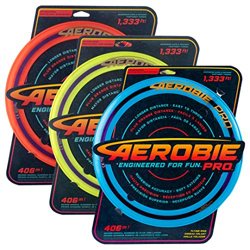 Aerobie Anillo Volador Pro, Record de Distancia...