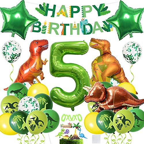 Globos Dinosaurios, Dinosaurios Globo 5 Años...