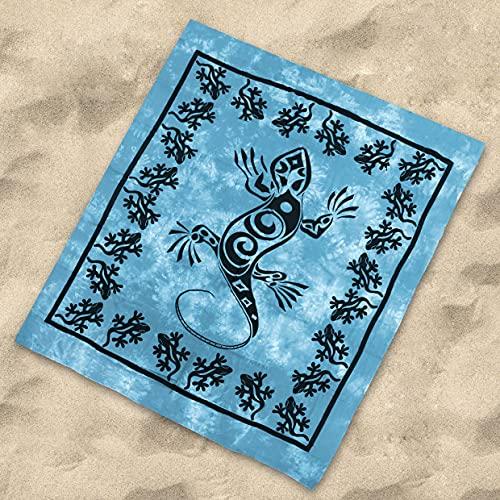 Sibiles - Pareo de Playa Grande para Suelo 100%...