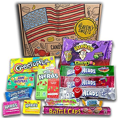 Caja de dulces veganos americanos   Golosinas y...