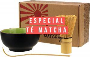 Para los amantes de té.Té matcha, propiedades, beneficios y utensilios, donde comprar