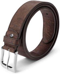 regalo vegano vegetariano cinturon corcho
